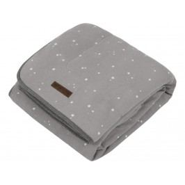 LITTLE DUTCH Little Stars Decke Pure&Soft Grey 110x140cm 1557