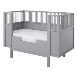 LIFETIME Kidsroom Rausfallschutz für Babybett 60x120cm Grau 7023