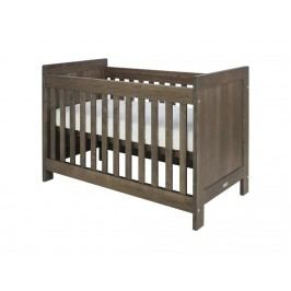 BOPITA Basic Wood Babybett Brown Wash 60x120cm Lattenrost höhenverstellbar 27110763