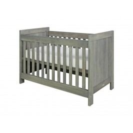 BOPITA Basic Wood Babybett Grey Wash 60x120cm Lattenrost höhenverstellbar 27110756