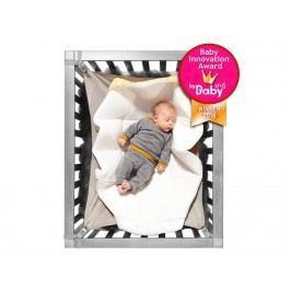 HANGLOOSE BABY Babyhängematte für Laufgitter Écru/Gelb HLB1001