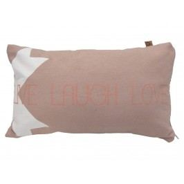 VAN BAAL Kissen Live Laugh Love Blush 30x50cm 82083.3050.23