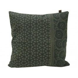 VAN BAAL Kissen Batik Canvas Olive 45x45cm 43205.4545.55