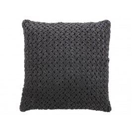 BEPUREHOME Scoop Kissen Velvet Grau 60x60cm 800710-G