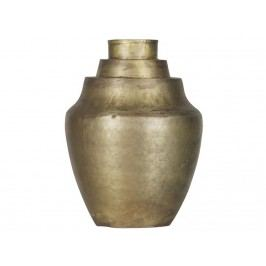 BEPUREHOME Cheer Vase Metall Messing antik 31x23x23xcm 800701-B