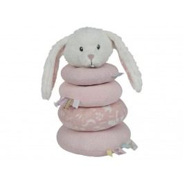LITTLE DUTCH Adventure Ringturm Hase Pink 4649