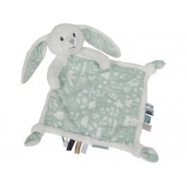 LITTLE DUTCH Adventure Kuscheltuch Hase Mint 4629