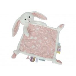 LITTLE DUTCH Adventure Kuscheltuch Hase Pink 4628