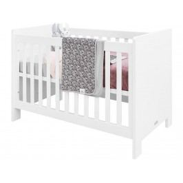 BOPITA Verona Babybett Weiß 60x120cm inkl. Lattenrost höhenverstellbar 11410911