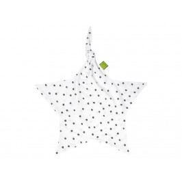 JULIUS ZÖLLNER Dots Grau Jersey Stern Schnuffeltuch Dots 8841068260