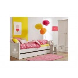 ALTA FURNITURE Bettcouch Weiß Snow white 90x200cm ALTA furniture 5020-49