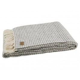 BEPUREHOME Double Decke Streifen Grau Weiß 130x170cm 800750-G